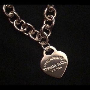 Authentic Tiffany Return to Tiffany Co necklace